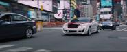 Roman's Bentley & Deckard's Jaguar (New York City)