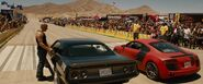 Plymouth Barracuda vs. Audi R8