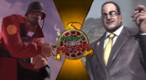 Fatal Fiction Thumbnail - The Soldier VS Senator Armstrong by The-Myth-of-Legend