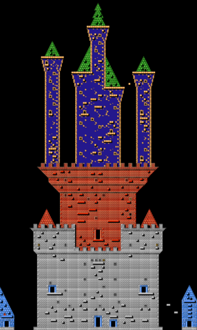 File:Wizards & Warriors 3 Castle Map.png