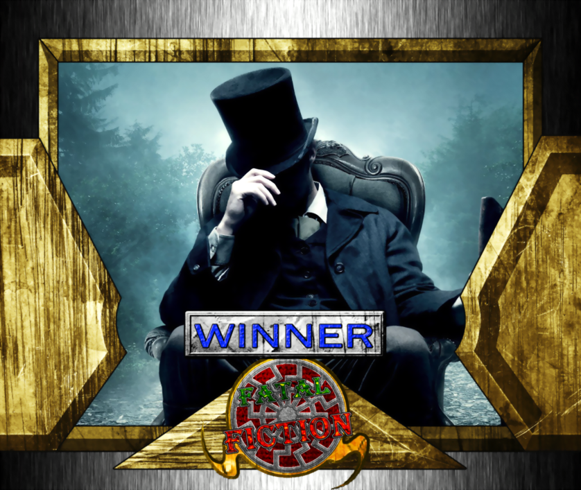 Fatal Fiction Winner - Abraham Lincoln