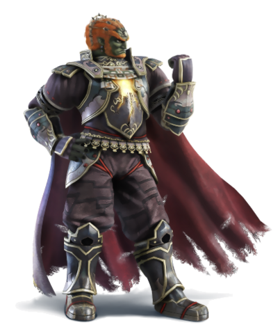 File:The Legend of Zelda - Ganondorf as seen in Super Smash Brothers.png
