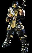 Mortal Kombat - Scorpion as he appears in Mortal Kombat Deadly Alliance