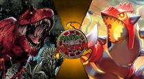 Fatal fiction GROUDON VS DEVIL DINOSAUR