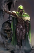 Forgotten Realms - Drizzt Do'Urden with his animal companion Guenhwyvar