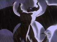 Gargoyles - Goliath waking up at a stormy night