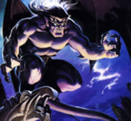 Gargoyles - Goliath as seen in the Sega Gensis Front Box Cover