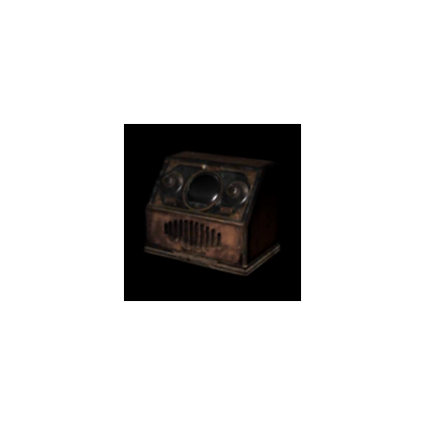 The spirit stone radio in <i>Fatal Frame II</i>.