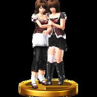 SSB4-WiiU - Mio & Mayu Trophy