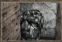 Terrified man