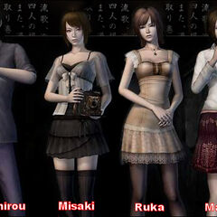 The protagonists of Fatal Frame IV