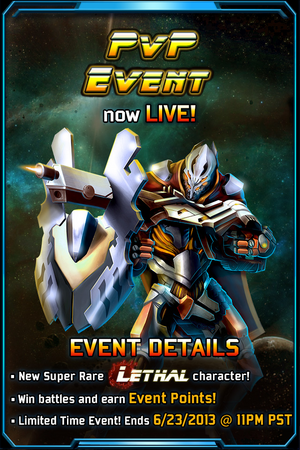 PvP 8 Event Notice