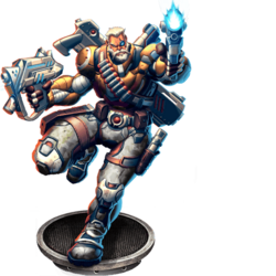 Ironsight, Warlord v2 Figure