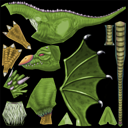 File:Venomous Wyvern (Old 2005).png