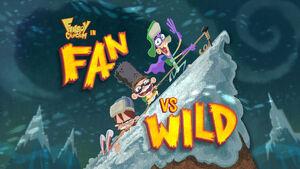 Fan vs. Wild title card