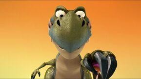 Dinosaur smiling s2e23a