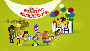 Present Not Accounted For title card