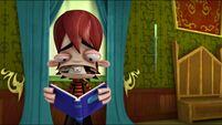 Kyle reading book s2e4a