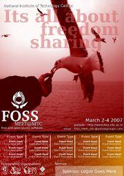 NITC FOSS MEET 2007