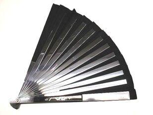 Tessen japanese steel war fan 2
