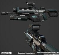 G3A3 Rifle Concept Art
