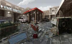 Wade Hospital Concept art