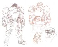 FEAR 2 Heavy Armor Concept Art