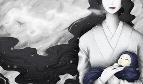 Yuki onna by theomania