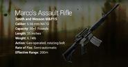Marco's Assault Rifle