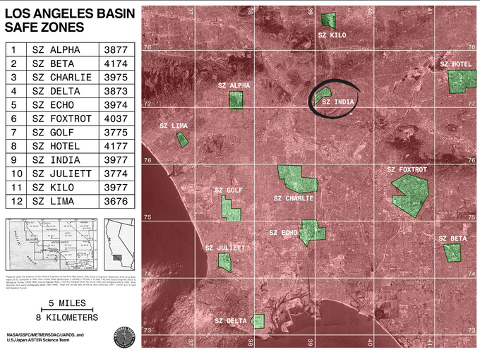 LA Basin Safe Zones