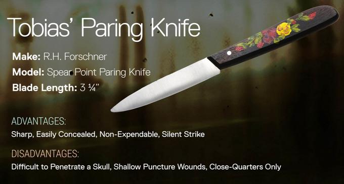 Tobias' Paring Knife