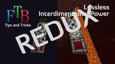 Β039 Feed The Beast Tips and Tricks E16 - Lossless Interdimentional Power REDUX