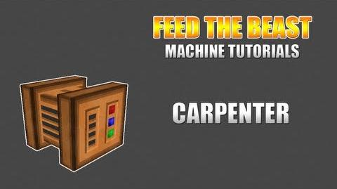 Feed The Beast Machine Tutorials Carpenter