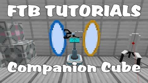 Feed The Beast Tutorials - Weighted Companion Cube