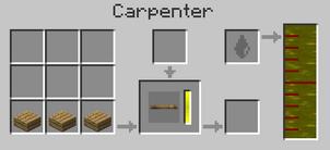 Tie wood carpenter