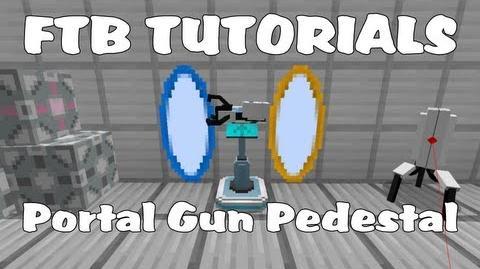 Feed The Beast Tutorials - Portal Gun Pedestal