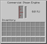 Commercial Steam Engine GUI