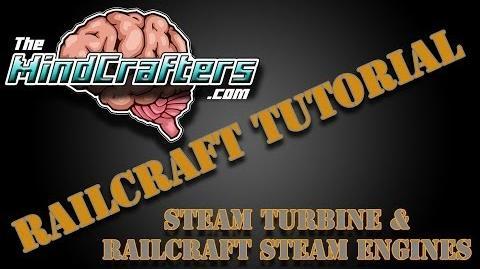 Railcraft Tutorial - Steam Turbine & Railcraft Steam Engines-3