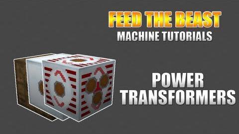 Feed The Beast Machine Tutorials Transformers
