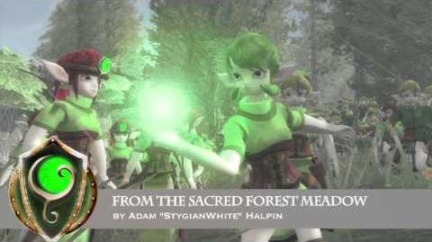 Hyrule Total War OST - From the Sacred Forest Meadow