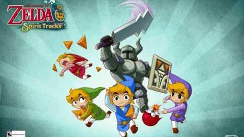 Legend of Zelda Spirit Tracks Realm Overworld EXTENDED