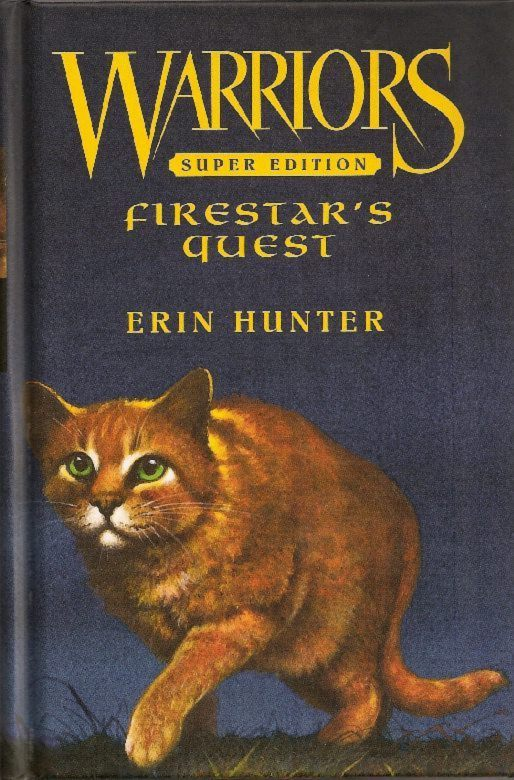 Book Cover Craft Quest : Image undercover firestar s quest g warrior cats