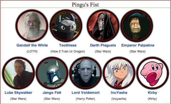 Pingu's Fist