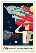 Acme art wall e introducing new axiom