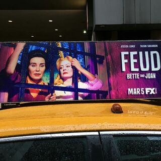 Taxicab Ad in New York