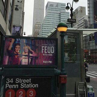 Subway Ad in New York
