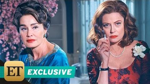 EXCLUSIVE Jessica Lange and Susan Sarandon on Playing Bitter Rivals in 'Feud Bette and Joan'