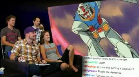"Fraser Sings ""Fly! Gundam"" on Video Games Awesome"