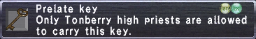 Prelate Key
