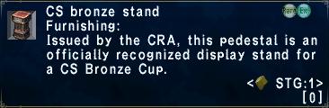 CSBronzeStand